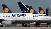 """Máy bay của nhiều hãng hàng không châu Âu phải """"đắp chiếu"""" do COVID-19. Ảnh: AFP/TTXVN"""