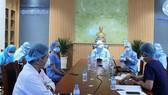 Bệnh viện Đà Nẵng họp bàn phòng chống dịch Covid-19
