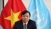 Đại sứ Đặng Đình Quý, Trưởng Phái đoàn thường trực Việt Nam tại Liên hợp quốc. Ảnh: TTXVN