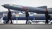 Tên lửa BrahMos. Ảnh: AP