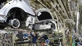 Dây chuyền lắp ráp tại nhà máy sản xuất ôtô Motomachi của Toyota tại Nhật Bản