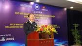 Cục trưởng Cục Hải quan TPHCM Đinh Ngọc Thắng phát biểu khai mạc