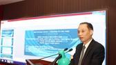 Thứ trưởng Bộ Ngoại giao Lê Hoài Trung thông tin tại hội nghị