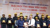 Thi đua thực hiện tốt bộ tiêu chí Người công nhân ngành điện thành phố