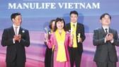 Manulife Việt Nam tiếp tục nhận Giải thưởng Rồng Vàng