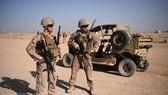 Binh sĩ Mỹ tại căn cứ quân sự Shorab ở tỉnh Helmand, Afghanistan. Ảnh: AFP/TTXVN