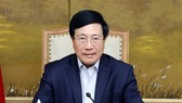Phó Thủ tướng Chính phủ Phạm Bình Minh làm Tổ trưởng Tổ công tác về rà soát, tháo gỡ khó khăn, vướng mắc và thúc đẩy thực hiện dự án đầu tư. Ảnh: TTXVN