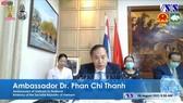 Đại sứ Việt Nam tại Thái Lan Phan Chí Thành phát biểu khai mạc hội thảo. Ảnh: TTXVN