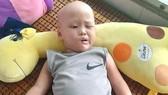 Bé trai 4 tuổi mắc bệnh u não