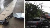 Bắt đối tượng tông xe dọa phóng viên, phá hỏng máy quay