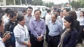 Bộ Y tế hỗ trợ công tác phòng chống dịch bệnh sau bão số 12