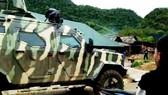 Xe bọc thép và hàng trăm đặc nhiệm tấn công hang ổ ma túy lớn nhất Sơn La