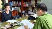 Cơ quan công an tiến hành lấy lời khai của nghi phạm Nguyễn Thành Nam