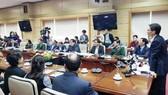 Phó Thủ tướng Vũ Đức Đam phát biểu chỉ đạo tại cuộc họp