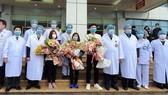 Bệnh nhân mắc Covid-19 được điều trị khỏi bệnh tại Bệnh viện Bệnh Nhiệt đới Trung ương