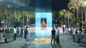 """""""Cổng ánh sáng"""" đoạt giải nhất cuộc thi thiết kế mẫu cột mốc Km0"""