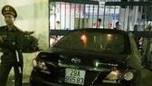 Chiếc xe ô tô gây tai nạn ở TP Thái Bình làm 3 người thương vong