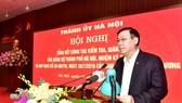 Hà Nội kỷ luật 59 tổ chức đảng và trên 3.100 đảng viên