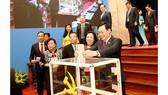 Đồng chí Vương Đình Huệ tái đắc cử Bí thư Thành ủy Hà Nội khóa XVII
