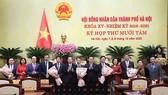 Hà Nội bầu mới Chủ tịch HĐND và 5 Phó Chủ tịch UBND TP