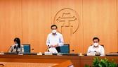 Chủ tịch UBND TP Hà Nội: Tuyệt đối không để lây nhiễm dịch ở các tổ bầu cử