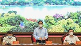 Làm việc với Thủ tướng, Hà Nội thể hiện quyết tâm kiểm soát được dịch Covid-19