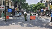 10 quận, huyện nội đô của Hà Nội tiếp tục giãn cách theo Chỉ thị 16 từ ngày 6-9