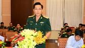 """Dạ hội thanh niên """"Chung dòng Mê Kông - Nghĩa tình sâu nặng"""" là hoạt động giao lưu thường niên giữa sĩ quan, chiến sĩ trẻ Bộ Tư lệnh TPHCM (Quân khu 7) và Quân đội Hoàng gia Campuchia"""