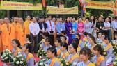 Đông đảo tăng ni, phật tử tham dự Đại lễ Phật đản Phật lịch 2562 tại Huế