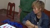 Đối tượng Nguyễn Thị Thảo Ly bị bắt giữ cùng tang vật