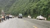 5 ô tô tông liên hoàn trên Quốc lộ 9 khiến nhiều người bị thương