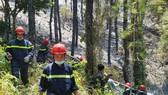 Lực lượng chức năng đang nỗ lực dập tắt đám cháy