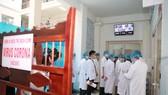 Khu vực cách ly bệnh nhân nghi nhiễm nCoV tại Bệnh viện Trung ương Huế