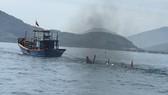 Va chạm trên biển, 2 người chết và mất tích