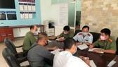 Cơ quan chức năng tỉnh Thừa THiên - Huế làm việc với ông Phương vào chiều 31-7 