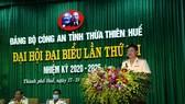 Thượng tá Nguyễn Thanh Tuấn được bầu làm Bí thư Đảng ủy Công an Thừa Thiên – Huế