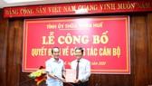 Điều động và bổ nhiệm nhiều cán bộ chủ chốt tại Thừa Thiên – Huế