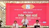 Ông Phan Thiên Định, Phó Chủ tịch UBND tỉnh Thừa Thiên - Huế phát biểu tại hội thảo