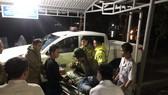 5 công nhân bị mắc kẹt tại thủy điện Rào Trăng 4 đã được đưa về bệnh viện Đa khoa Bình Điền chăm sóc vào tối 13-10 