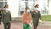Công an bắt giữ đối tượng Phan Thị Chuân 