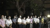 Thầy cô và bạn bè tưởng niệm tri ân Nguyễn Văn Nhã tại sân Trường ĐH Khoa học - ĐH Huế 