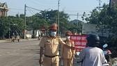 Trạm Giám sát dịch tễ phòng, chống dịch Covid-19 đặt tại phía Nam tỉnh Thừa Thiên - Huế