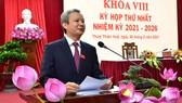 Ông Lê Trường Lưu tái đắc cử chức danh Chủ tịch HĐND tỉnh Thừa Thiên - Huế khóa VIII 