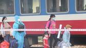 600 người dân từ TPHCM về Huế bằng chuyến tàu miễn phí