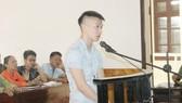 Bị cáo Trần Tiến Dũng tại phiên tòa