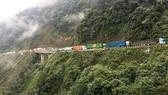 Thông tuyến Quốc lộ 8A lên Cửa khẩu quốc tế Cầu Treo sau sự cố sạt lở