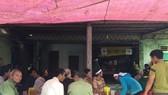 Gia đình và chính quyền địa phương tổ chức đám tang cho chị Ch. và cháu Ph.