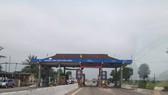 Sáng 21-2, tại trạm thu phí Cầu Rác đã xả trạm tạm dừng thu phí