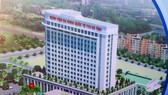Phối cảnh Bệnh viện Đa khoa Quốc tế TTH Hà Tĩnh