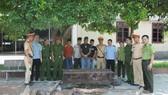 Số gỗ và động vật hoang dã bị bắt giữ